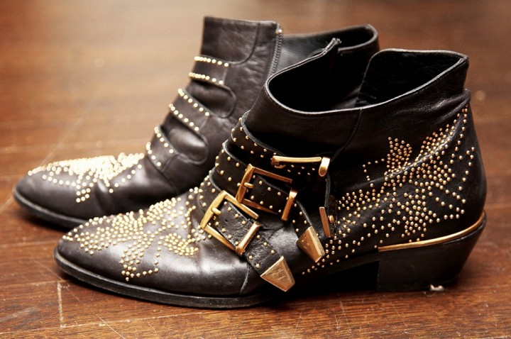 Erin Wasson - Personal Style - Boots with studs