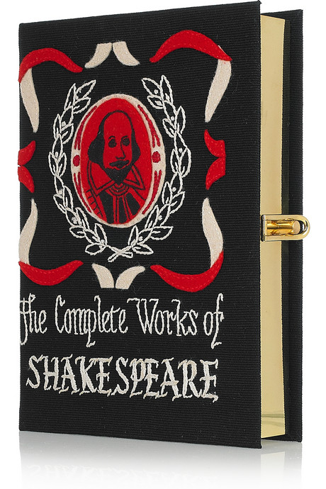The complete works of Shakespeare - Clutch Olivia Le-Tan