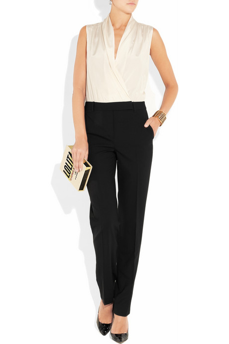 Outfit Net-a-Porter - clutch Olivia Le-Tan