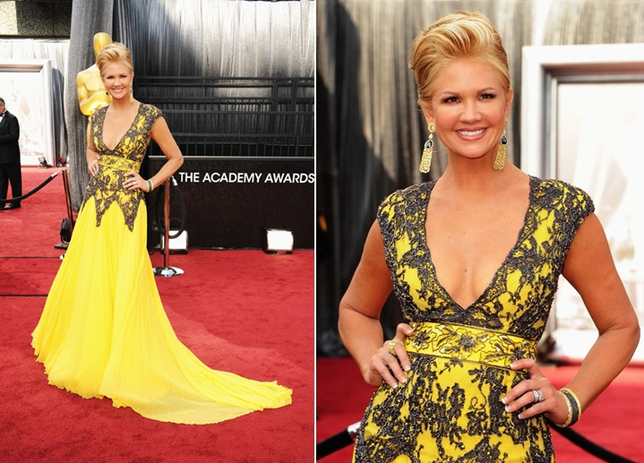 Nancy O'Dell - Chagoury Couture