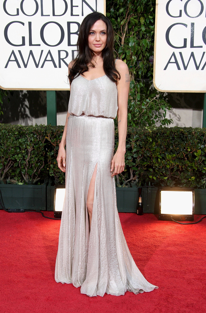 Angelina Jolie - Golden Globes Outfit