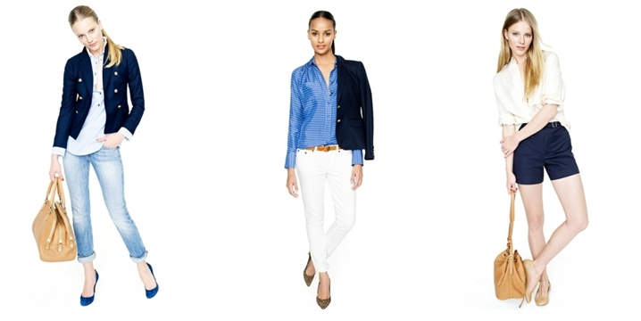 J Crew -  Spring / Summer 2012 - Office outfits