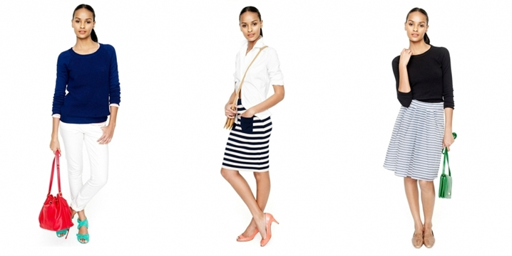J Crew -  Spring / Summer 2012 - Casual outfits