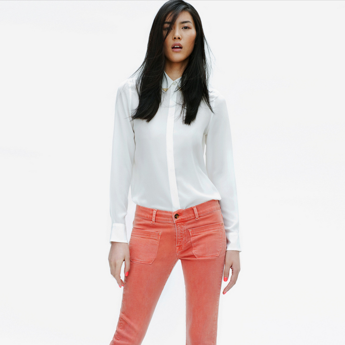 Zara - Lookbook 2012 - Colored Jeans
