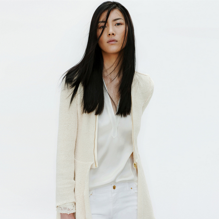 Zara - Lookbook 2012 - White Shirt