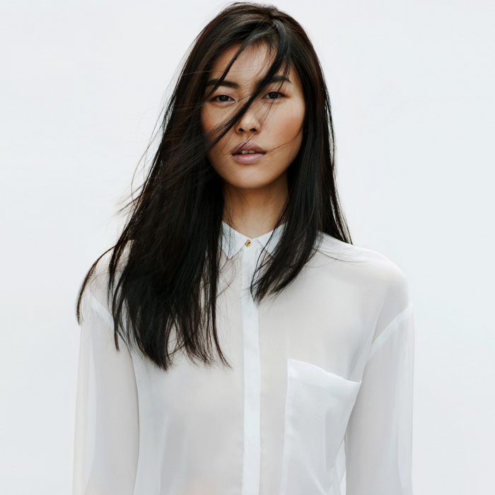 Zara - Lookbook 2012 - Silk Shirt