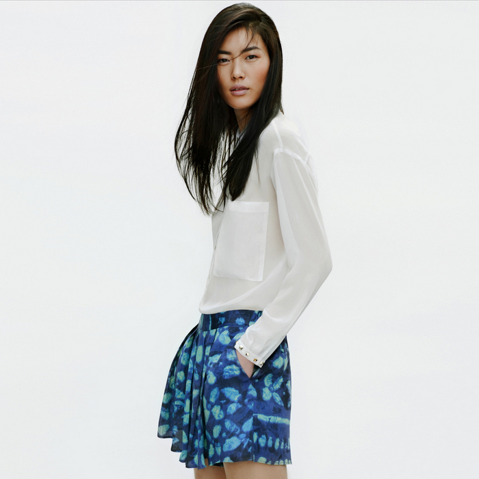 Zara - Lookbook 2012 - Digital Print Pants