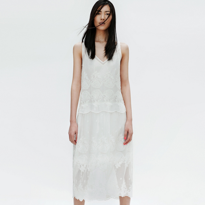Zara - Lookbook 2012 - Crochet Dress