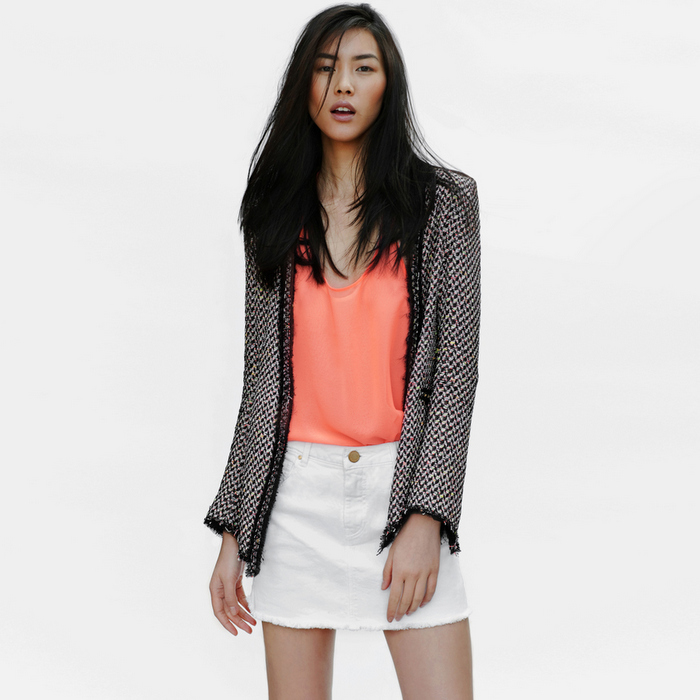 Zara - Lookbook 2012 - Tweed Jacket