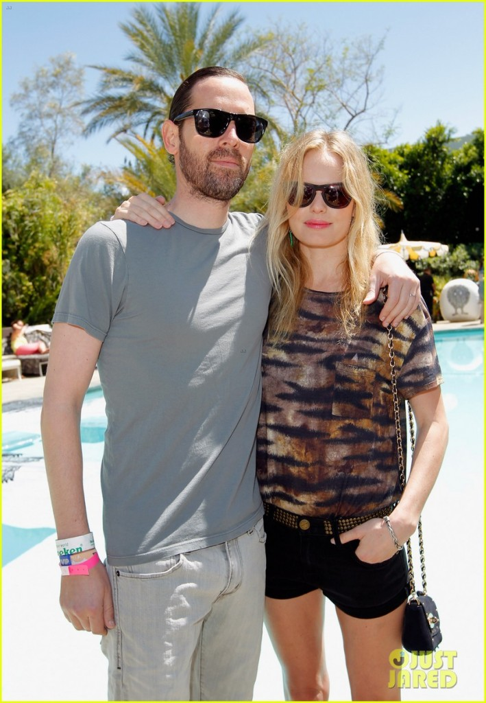 Mulberry BBQ Pool Party At Coachella - Kate Bosworth