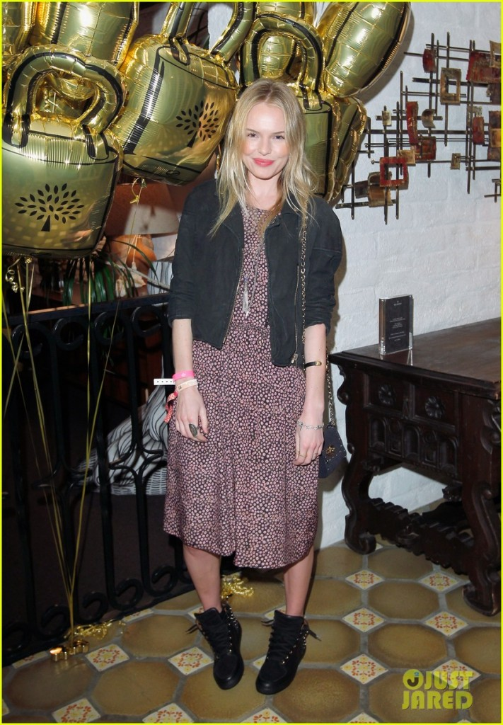 Mulberry Firepit Party - Coachella - Kate Bosworth