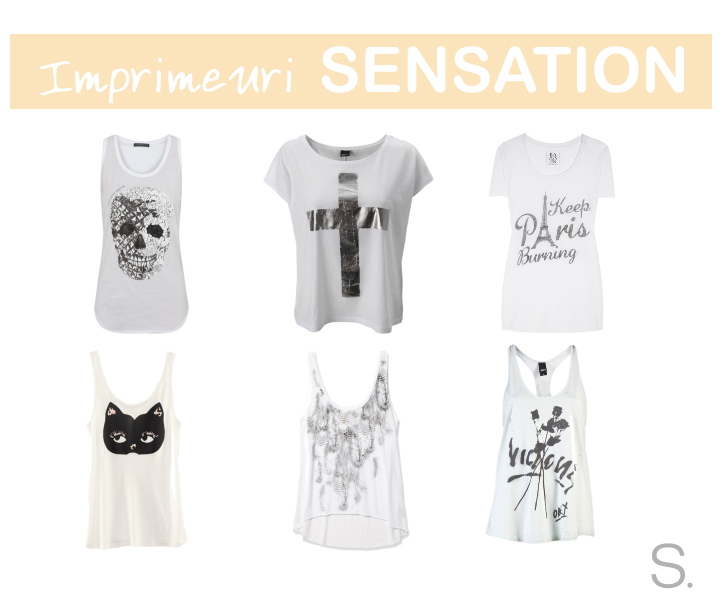 White Sensation Tshirts