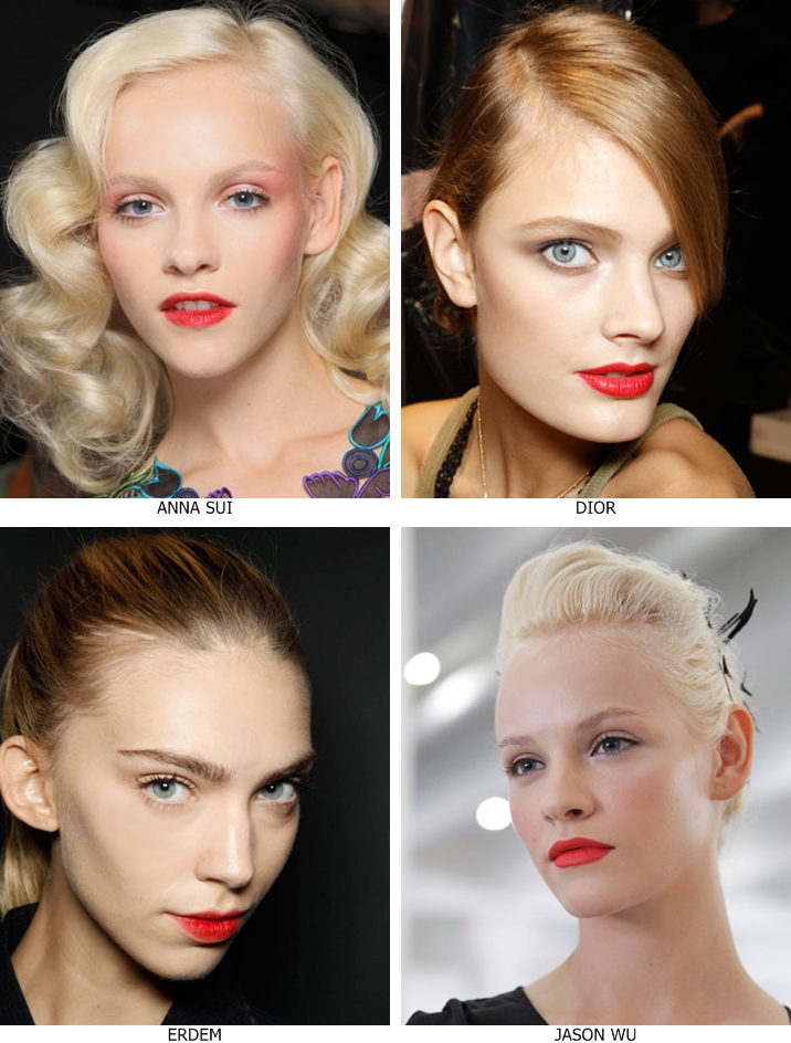 Red Lips / Make-up / Beauty