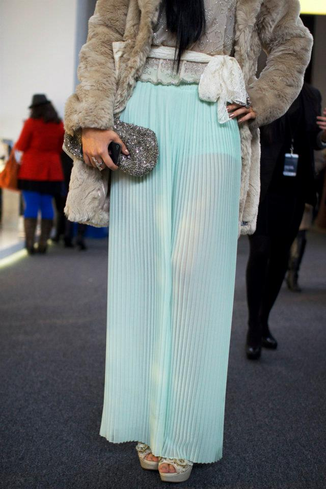 Maxi skirt - Street casual outfits in New York for spring