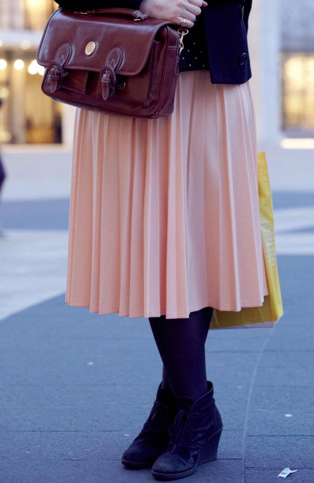 Skirt - Street casual outfits in New York for spring