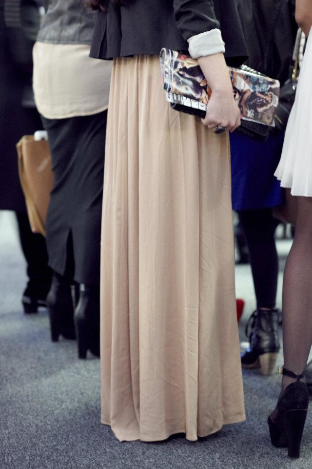 Maxi dress - Street casual outfits in New York for spring