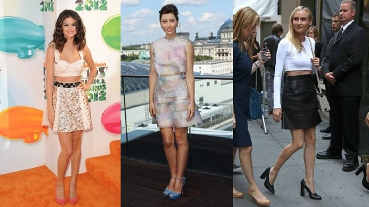 Cropped Outfits 2012 - 2013
