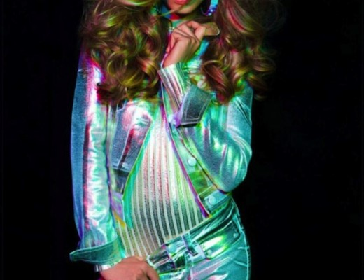 Holographic outfits