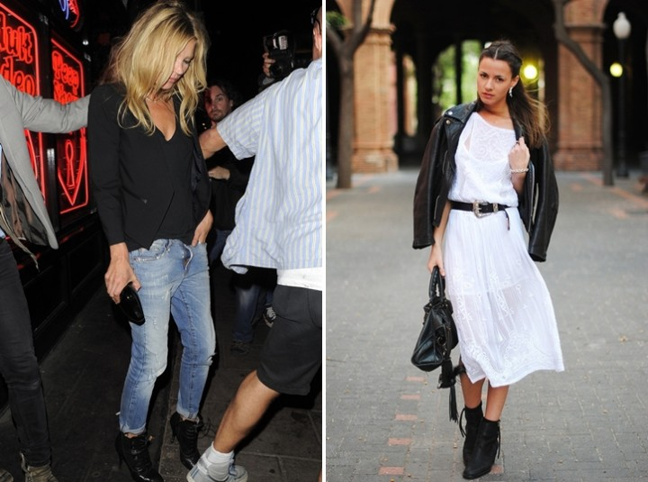 Summer Boots - Black ankle boots - Streetstyle