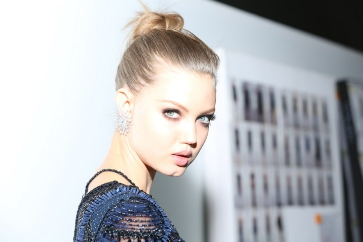 Versace F/W 2013-2014 hairstyles
