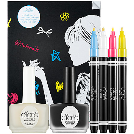 Ciate Chalkboard Manicure Set - Nailpolish Trends 2013