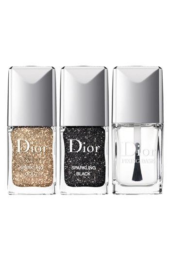 Dior Sparkling Nail-Powders - Nailpolish Trends 2013