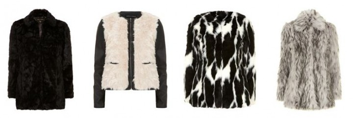 Faux fur coats fall must-have pieces