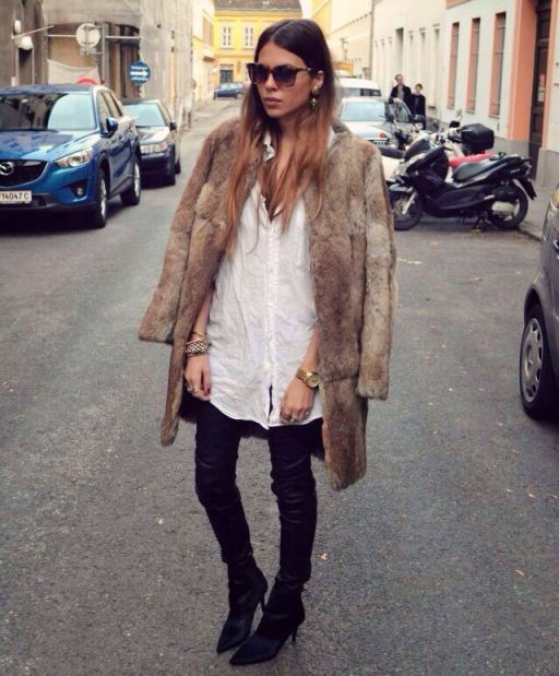 How to Wear Statement Fur: Your Street Style–ApprovedGuide