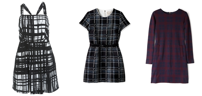 How to style tartan dresses