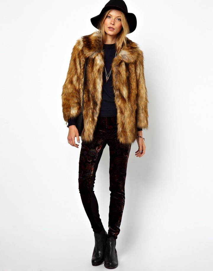 Outfits With Fur Coats