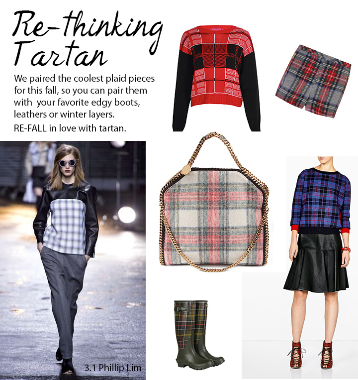 How to wear plaid tartan outfits inspiration