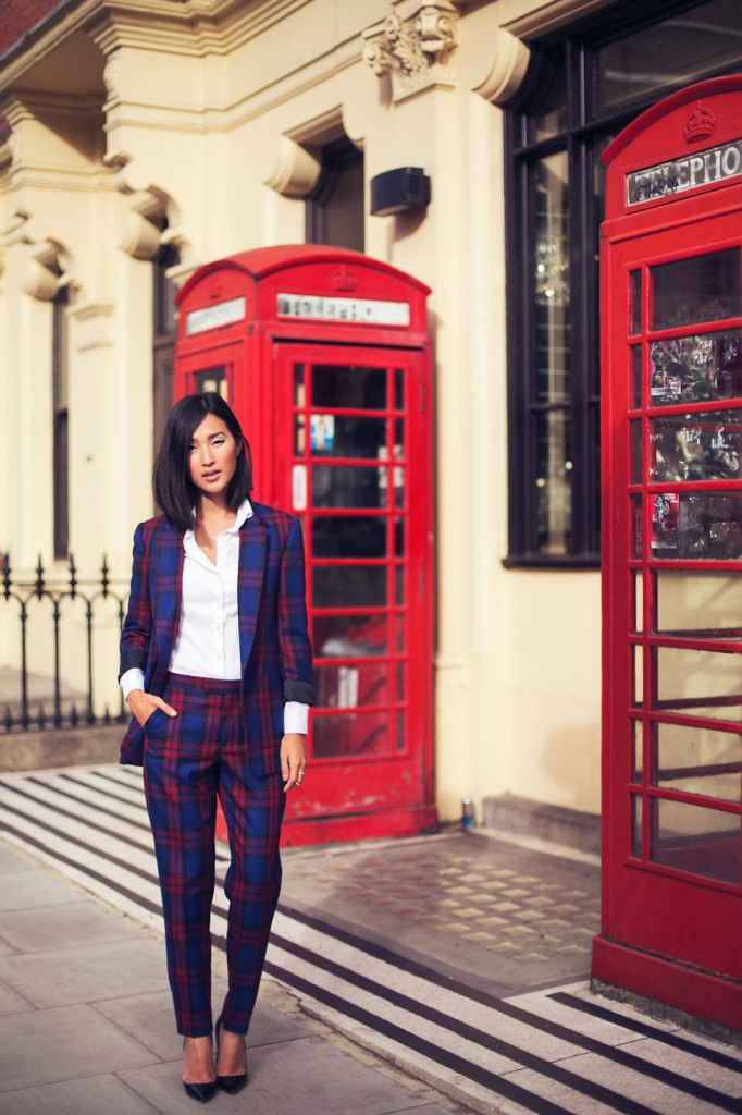 Plaid suit - How to style tartan