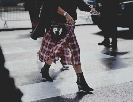 Plaids items - fall season essentials