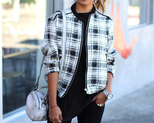 Bomber jacket styling outfits