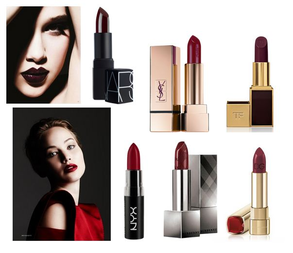 Dark lips makeup trends
