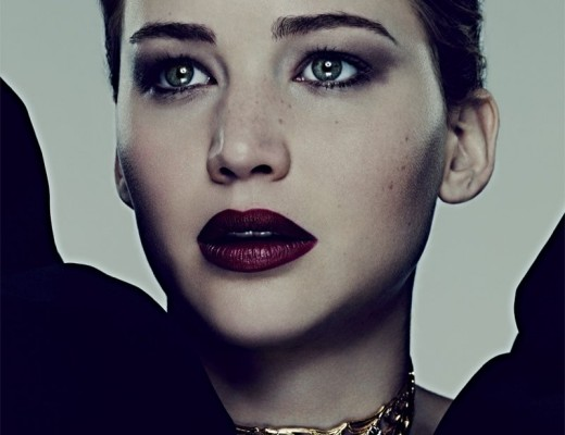 Jennifer Lawrence - Bazaar - Dark Lips