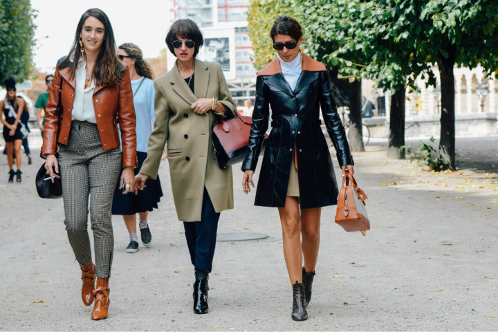 PFW - Leather Coats