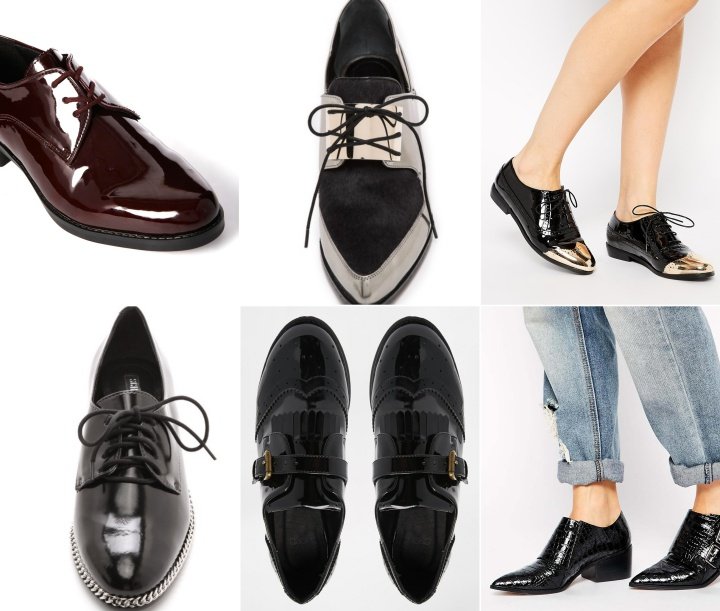 Men's shoes for feminine looks