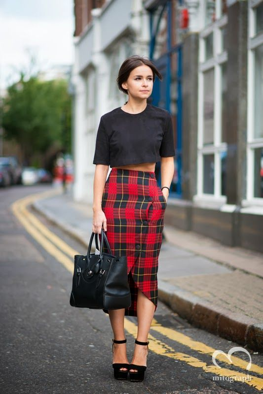 plaid-skirt-lfw2015