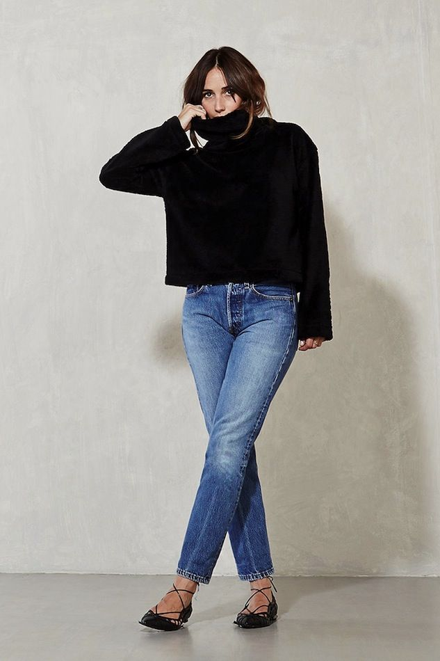 lace-up-flats-sweater