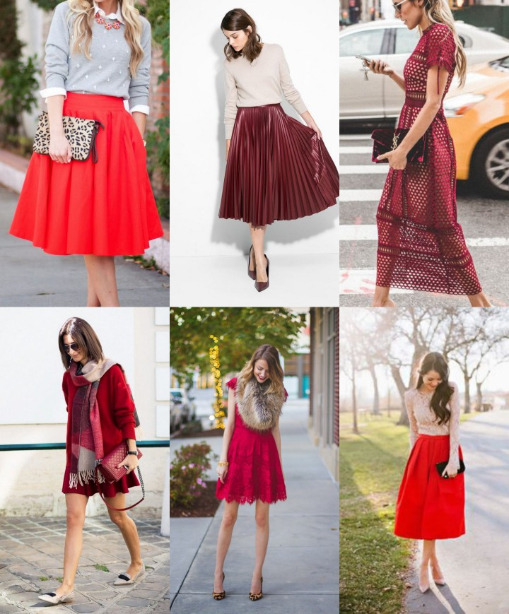red-nude-outfits - 5 Best Christmas Party Outfits That Always Make The Nice List