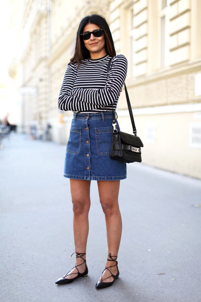 must-have-spring-denim-buttoned-skirt