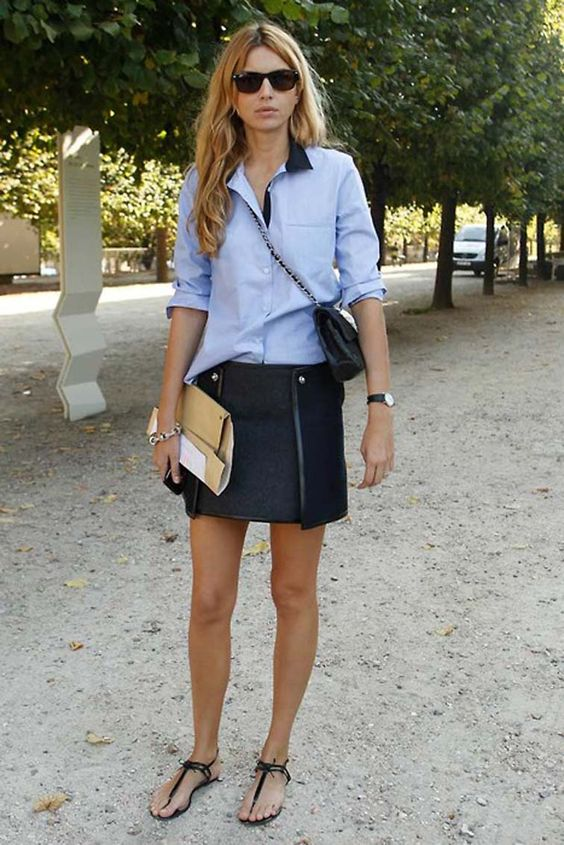 Get The Look French Girl Style Adoreness