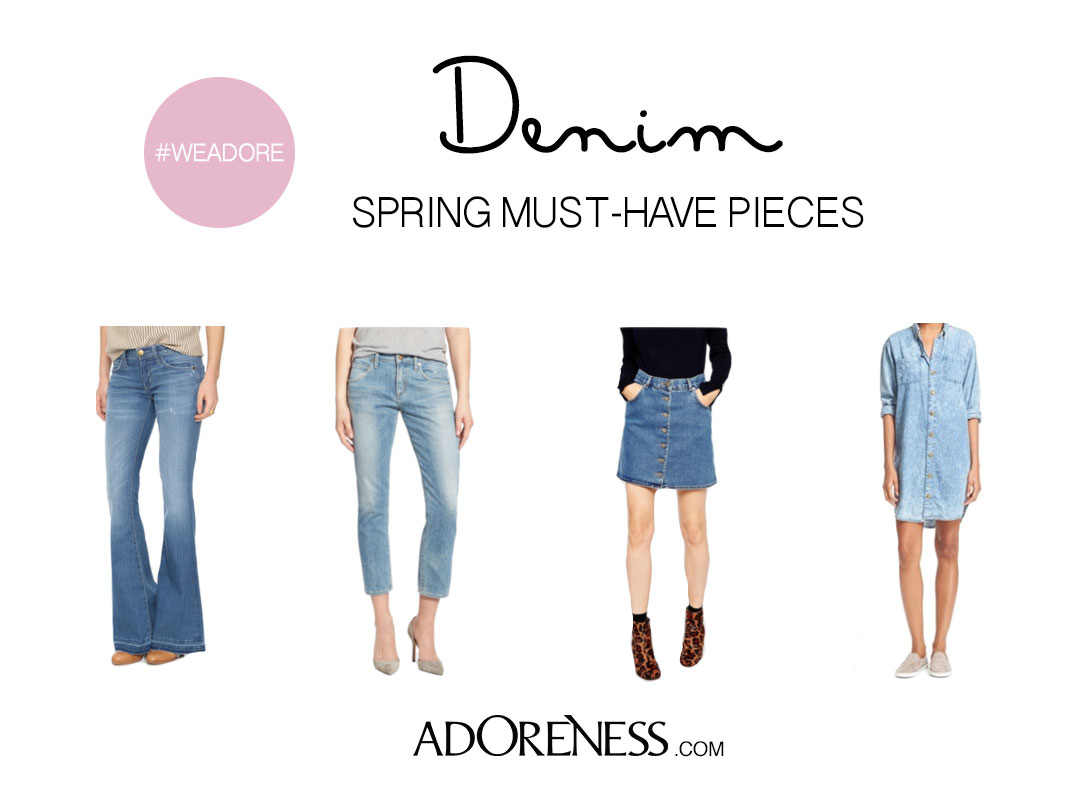 7 Must-Have Denim Pieces for Spring - ADORENESS